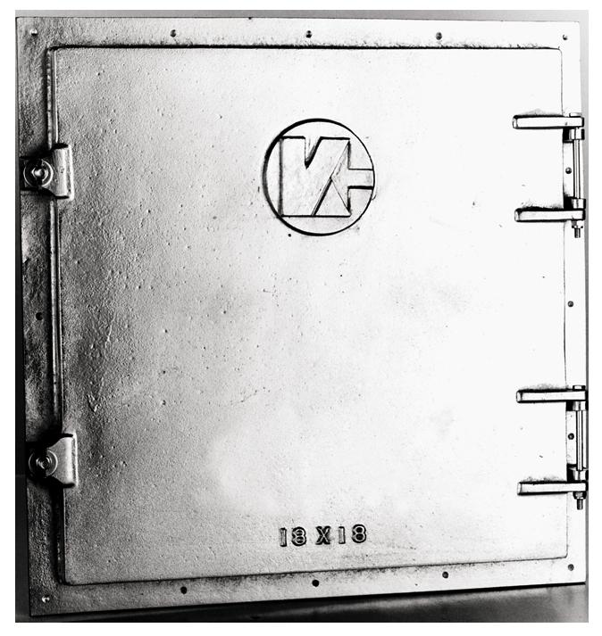 Aluminum Access Doors : Metal access doors cast aluminum door